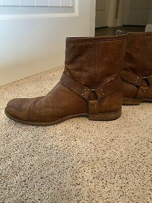 $90 • Buy Mens Frye Harness Boots, Size 14