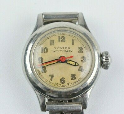 $ CDN1050.95 • Buy Vintage Rolex Oyster Lady Dudley Small 22mm Watch Manual Movement 1940s - 1950s