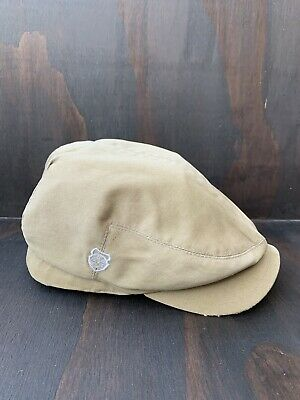 $19.99 • Buy Diesel Driving / Cabbie /  Newsboy Hat Brown:Tan Cap  Size S/M. Fits A 7 1/4