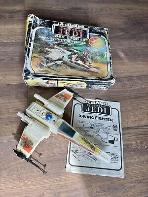 $ CDN173.09 • Buy Vintage Star Wars X-Wing Fighter Battle Damaged With Box And Instructions.