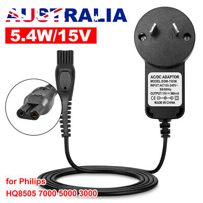 AU19.95 • Buy 15 Shaver Charger For Philips HQ8505 Charger 7000 5000 3000 HQ PT RQ Razor OZ