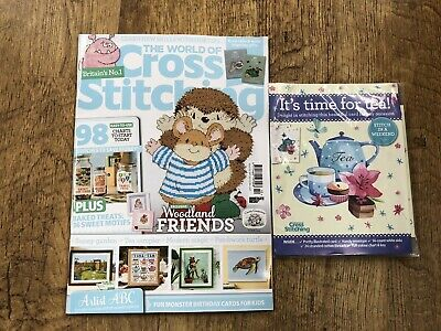 £5 • Buy World Of Crossstitch Magazine. Brand New With Free Gift, Sept 2021 (latest Copy)