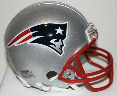 $70 • Buy Full Size New England Patriots Replica Helmet RIDDELL Some Scratches Great Shape