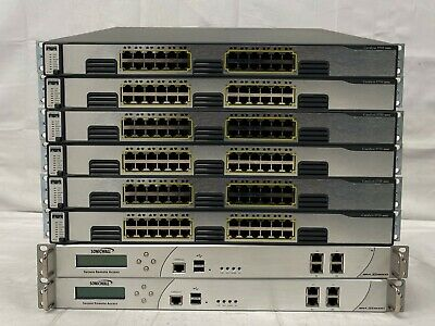£175 • Buy 2x SonicWall Secure Remote Access Switch 6x Cisco Catalyst WS-C3750G-24T-S