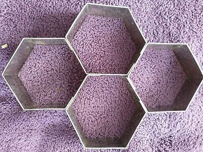 £0.99 • Buy Hexagonal Cutter, Pastry,biscuits Or Sugarcraft
