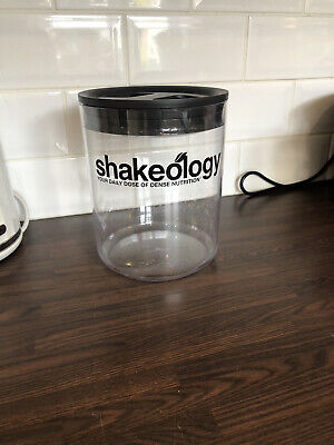 £9.99 • Buy Shakeology Canister Storage Container Rare Beachbody 21 Day Fix Protein