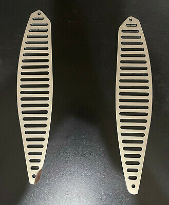 AU65 • Buy Holden LH LX UC Torana Sedan Vent Covers Polished Stainless Vent Slots Only