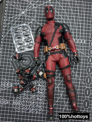 $ CDN220.30 • Buy Hot Toys 1/6 Scale Deadpool 2.0 Body Outfits Head Hands Figure HT MMS490 12in.