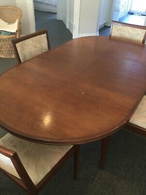 AU750 • Buy Vintage Parker Dining Table And 4 Chairs
