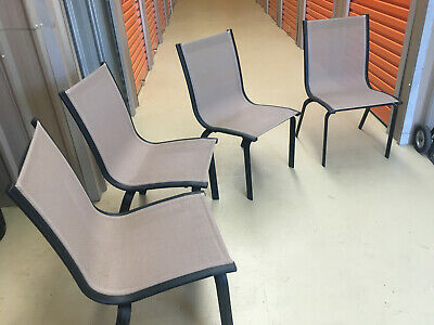 AU80 • Buy Indulgence Brand. Outdoor Dining Chairs. Aluminium Frame With Wicker Seat