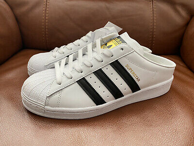 AU37.74 • Buy Adidas Women's Designer Superstar Mule White/Black Trainers RRP £70 - NEW TAGS