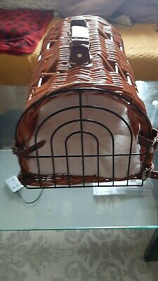 £15 • Buy Cat / Dog Whicker Basket Carrier