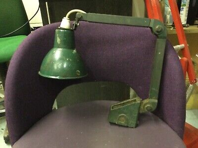 £50 • Buy Vintage Industrial/Mechanical/Factory Angle Poise Workshop Lamp By E.d.l