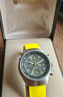 $ CDN1.80 • Buy Boxed,Citizen Automatic Chronograph 23J. Cal. 8110A Working,but Need Check