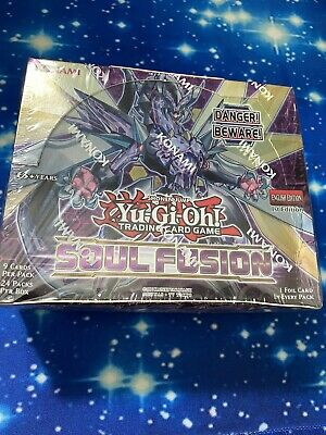 £50 • Buy Yu-Gi-Oh!  Sealed Booster BOX (24 Packs) - Soul Fusion (1st Edition)