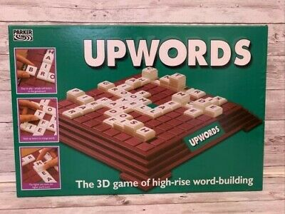 £6.99 • Buy Upwords 3D Word Board Game By Parker Hasbro - Clean And Complete