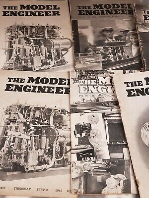 £10 • Buy 250x Vintage The Model Engineer Magazine 1948-1952 Year Approx Bundle Of Issues