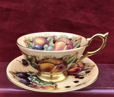 £35 • Buy Aynsley Orchard Gold Tea Cup And Saucer
