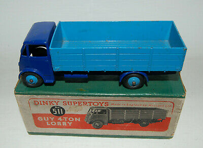 £45 • Buy Dinky Supertoys - No 511 - Guy 4-Ton Lorry - Boxed - C1950