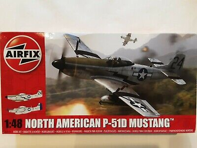 £15 • Buy Airfix 1/48 North American P-51D Mustang - Kit Is Still Sealed