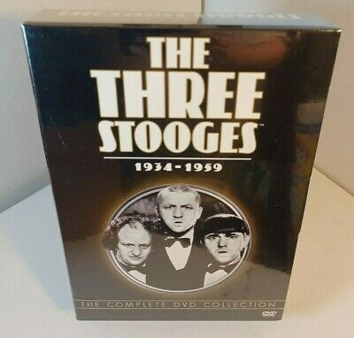 £32.06 • Buy The Three Stooges: 1934-1959: The Complete DVD Collection - NEW-Box Shipping