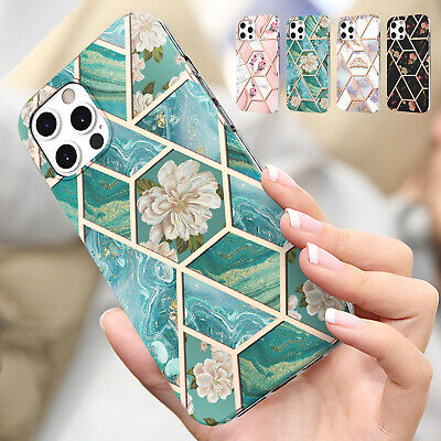 AU10.39 • Buy For IPhone 12 11 Pro Max XS XR 7 8 Plus Marble Rubber Shockproof Slim Case Cover