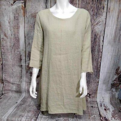 £40.31 • Buy Cut Loose Jute Tunic Size Small New With Tags D2c