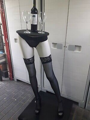 £90 • Buy Upcycled Female Mannequin Leg Cocktail Table
