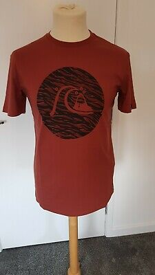 £15.99 • Buy Quicksilver Mens T-shirt. Large. New With Tags. Maroon. Genuine