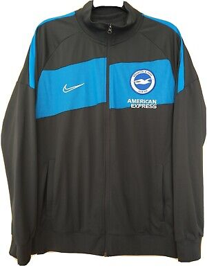£14.50 • Buy Brighton And Hove Albion Polo Shirt L And Tracksuit Top XL. Grey. Nike. Vgc