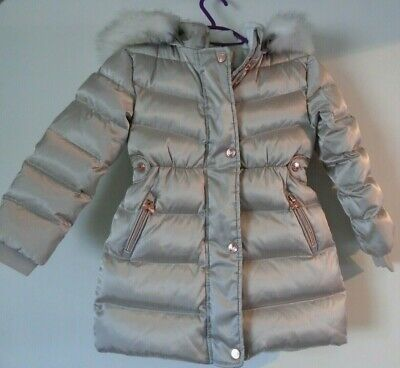 £11.50 • Buy Ted Baker Girls Coat Age 5 Years Down/Feather Filled