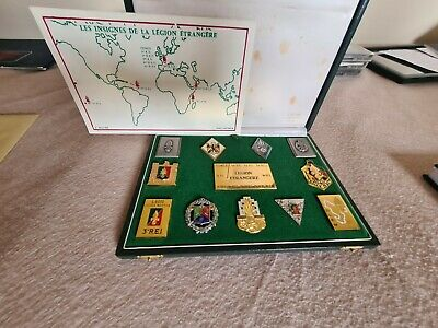 £139.99 • Buy French Foreign Legion Badge Set Cased Unique