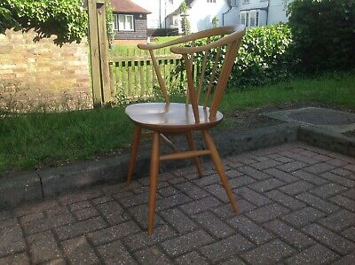 £275 • Buy An Ercol 449a Bow Top Windsor Armchair. Blue Label 1960-79.
