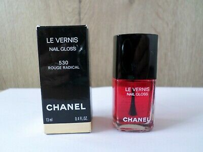 £10 • Buy Chanel Le Vernis Nail Colour Gloss – 530 – Rouge Radical