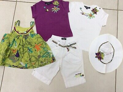 £15 • Buy Jean Bourget Girls Shorts Tops And Hat 18m/2y (like Catimini)