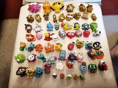 £10 • Buy Huge MOSHI MONSTERS Bundle Collectible Toys Figurines & Popcorn Container