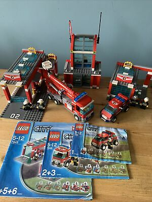 £29.99 • Buy Lego City Set 7945 Fire Station Incomplete Used Please Read