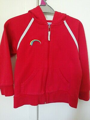 £3.99 • Buy Rainbows Girl Guiding Zipped Hoodie, Size Small, Good Condition.