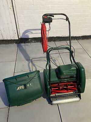 £345 • Buy Atco Windsor 14S 14 Inch Self Propelled Electric Cylinder Lawnmower 2005 Model