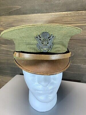 £35.78 • Buy WWI US Army M1912 Visor Service Cap W/ Officer Insignia - NAMED