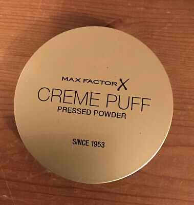 £3.99 • Buy Max Factor Creme Puff Pressed Powder Tempting Touch 53 BRAND NEW