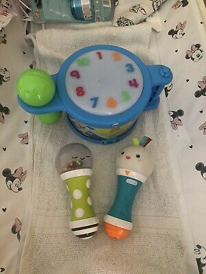 £10 • Buy Baby Musical Drum And Maraccas
