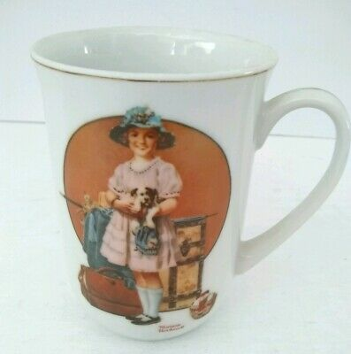 $ CDN7.55 • Buy VTG 1981 Norman Rockwell  Vacation's Over  Collectible Porcelain Coffee Mug