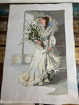 £30 • Buy Portrait Of Elegance Completed  Finished Cross Stitch