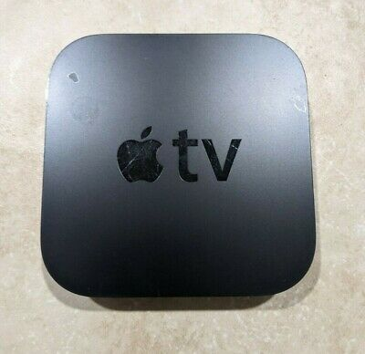 AU20.26 • Buy Apple TV 2nd Generation Streaming Media Player A1378 With Remote - Black