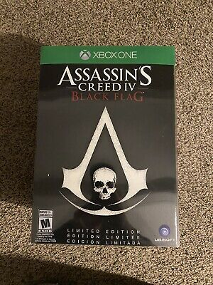 £86.52 • Buy Assassin's Creed IV: Black Flag -- Limited Edition (Microsoft Xbox One, 2013)