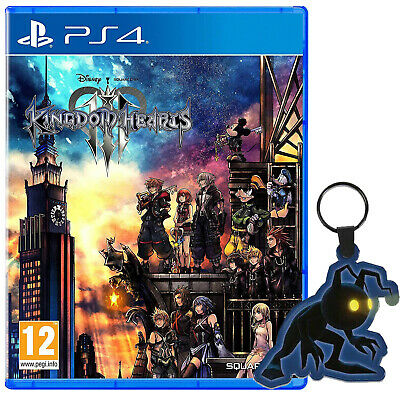 £14.99 • Buy Kingdom Hearts 3 III PS4 Game Special Edition Heartless Keyring PlayStation 4 5