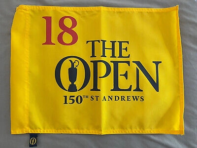 £50 • Buy NEW ST ANDREWS 150th The Open Golf Championship Pin Flag Old Course 2022