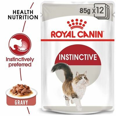 £19.99 • Buy Royal Canin Feline Health Instinctive Adult Cat Food Pouches With Gravy 12x85g