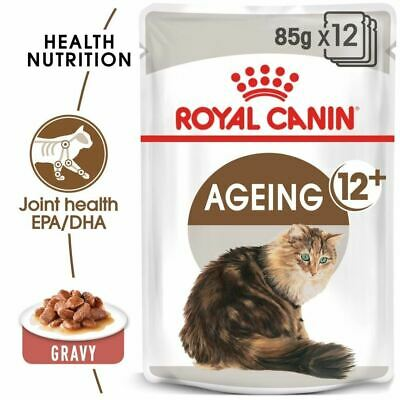 £21.99 • Buy Royal Canin Feline Health Ageing +12 Senior Cat Food Pouches With Gravy 12x85g